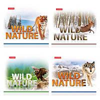 Тетрадь 60 листов в линию Тетрада Дикая природа, 92036