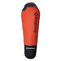 Спальный мешок King Camp Compact 1200 кокон, спальник туристический Оранжевый