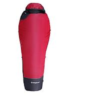 Спальный мешок King Camp Compact 1200 кокон, спальник туристический Красный