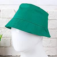 Панама зеленого цвета