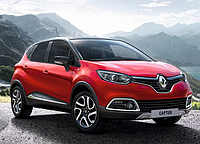 Силовые обвесы Renault Captur с 2013 г., кенгурятники и пороги