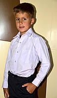 Рубашка  классическая, цвет сиреневый, длинный рукав., фото 1