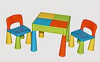 Комплект детской мебели Tega Baby Mamut Multi стол и 2 стула (TM001_02)
