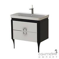 Мебель для ванных комнат и зеркала Ювента Тумба Ювента Ticino чёрный Tс-85 black