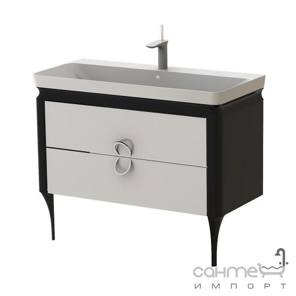 Мебель для ванных комнат и зеркала Ювента Тумба Ювента Ticino чёрный Tс-105 black