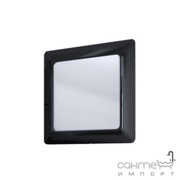 Мебель для ванных комнат и зеркала Ювента Зеркало Ювента Ticino чёрное TсM-80 black