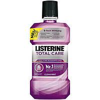 Listerine tägliche Mundspülung Total Care Clean Mint - Ополаскиватель для полости рта 6 в 1 , 500 мл