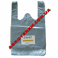 Пакет майка 24х42 см (200 шт.)