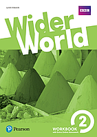 Рабочая тетрадь Wider World 2 WorkBook with Online Homework