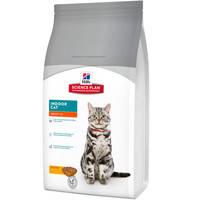 Сухой корм Hills SP Feline Adult Indoor Cat для домашних кошек с курицей 1.5 кг.