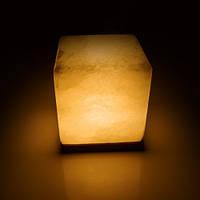 Соляная лампа SALTKEY CUBE Red (Куб) GIGANT 10-11 кг