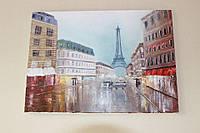 """Картина """"Париж"""", холст, масло (50х70)"""