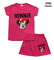 Летний костюм Minnie Mouse для девочки. 100 см