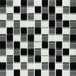 МозаикаMIX C010 стекло прозрачное 2,5*2,5