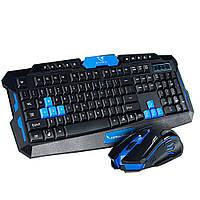 Купить оптом Беспроводная компьютерная клавиатура и мышь KEYBOARD HK-8100