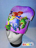 Детская шапка Принцесса София