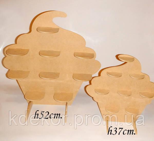 КАПКЕЙК (КЕКС) №1 (висота 37см.) підставка для капкейків, кексів
