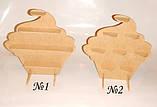 КАПКЕЙК (КЕКС) №1 (висота 37см.) підставка для капкейків, кексів, фото 2