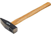 Молоток слюсарний, 300 г, квадратний бойок, дерев'яна ручка// SPARTA