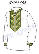 Заготовка  сорочки-вышиванки для мальчика ДРМ-2