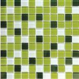 МозаикаMIX C012 стекло прозрачное 2,5*2,5