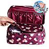 Дорожный органайзер для белья с отрывным кармашком Monopoly Travel (Daisy Purple) реплика