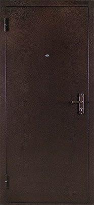 Двери входные ТМ Cortez технические 1 из стали