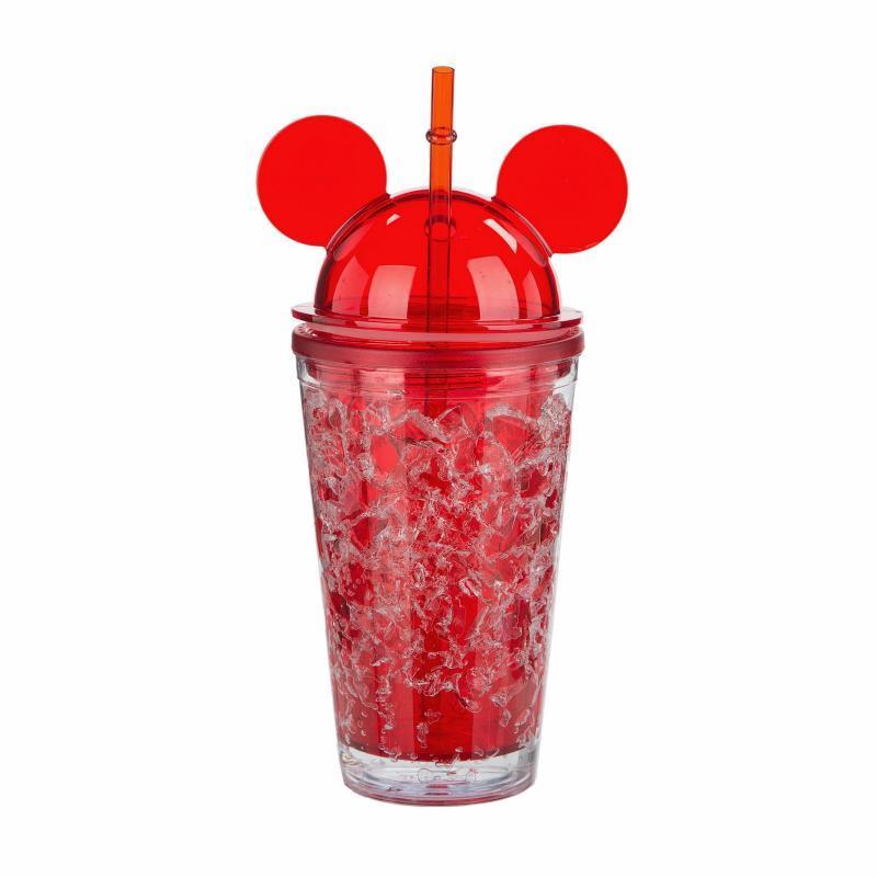 Бутылка Микки Маус Ice Cup. Красная