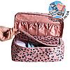 Дорожный органайзер для белья с отрывным кармашком Monopoly Travel (Pink Leo) реплика