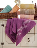 Упаковка 6шт - полотенца махровые 70х140 Alya