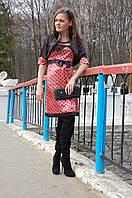 Платье для беременных атласное универсальное