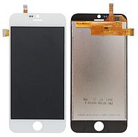 Оригинальный дисплей (модуль) + тачскрин (сенсор) для Blackview Ultra A6 (белый цвет)