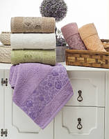 Упаковка 6шт - полотенца махровые 70х140 Asiya