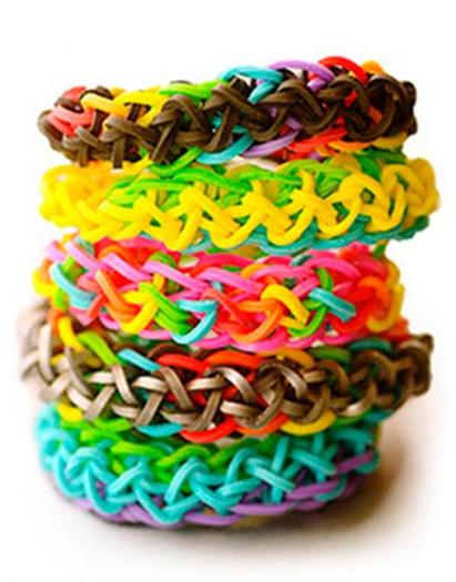 Резинки для плетения браслетов, наборы