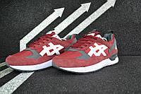 Мужские кроссовки Asics K-168 Бордовые