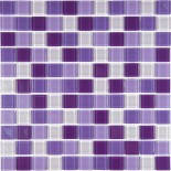 МозаикаMIX Сo14R стекло прозрачное 2,5*2,5