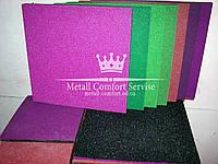 Резиновая плитка 500х500х20 розовая