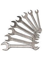 Набір ключів ріжкових, 6 х 17 мм, 6 шт., хромовані// SPARTA