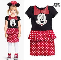 Платье Minnie Mouse для девочки. 90 см, фото 1