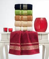Упаковка 6шт - полотенца махровые 70х140 Hoton