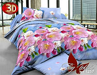 Двуспальный 3D комплект постельного белья, поликоттон-XHY1257, TAG-123/д