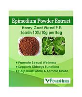 Экстракт эпимедии (икариин), Epimedium extract(icariin)  10%, фото 1