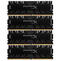 Модуль памяти для компьютера DDR4 32GB (4x8GB) 3200 MHz HyperX Predator Lifetime Kingston (HX432C16PB3K4/32)