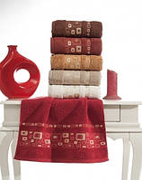 Упаковка 6шт - полотенца махровые 70х140 Olea