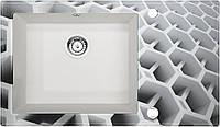 Кухонна мийка Deante CAPELLA скло (соти)/граніт (алебастр) край гранований, фото 1