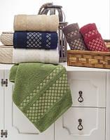 Упаковка 6шт - полотенца махровые 70х140 Serra