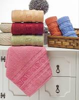 Упаковка 6шт - полотенца махровые 70х140 Yaprak