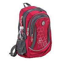 Красный рюкзак школьный ортопедический titanum ARE , фото 1