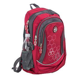 Красный рюкзак школьный ортопедический titanum ARE