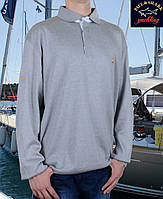 Мужской свитер-поло Paul Shark (Пол Шарк)  ,60-68 размеры.